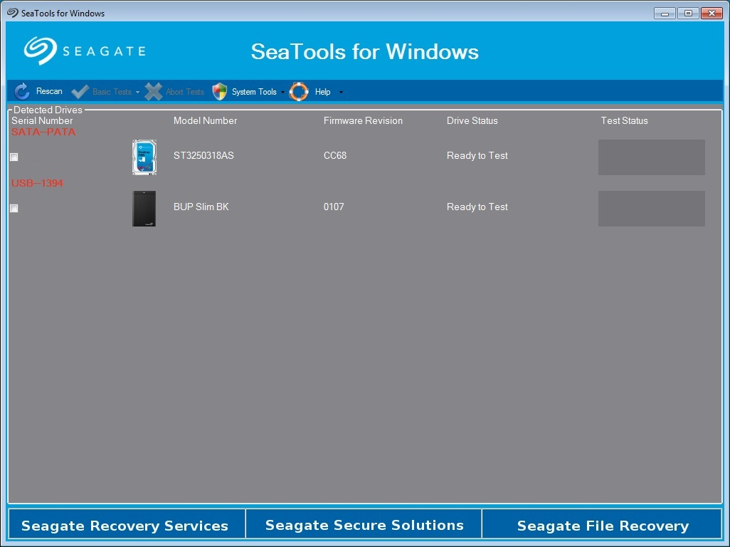 Seatools for Windows 10 Free Download [ How to use SeaTools ]