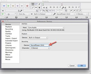 how to record audio on mac