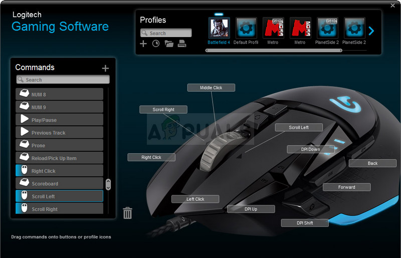 Logitech gaming software not opening