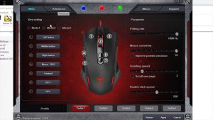 Pictek gaming mouse software