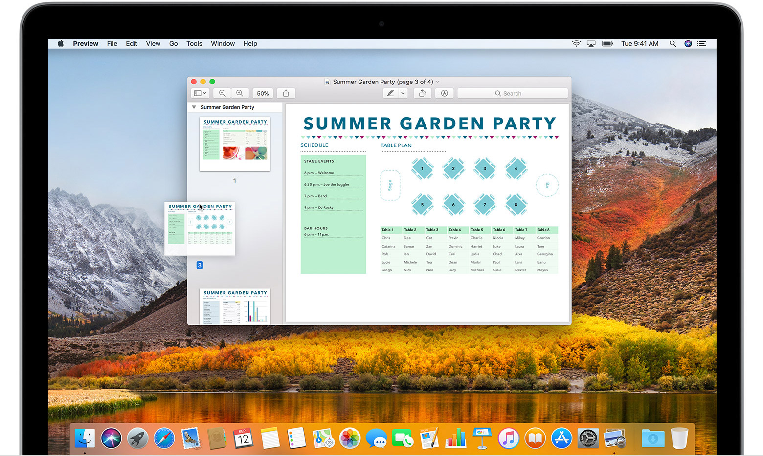 Combine PDFs Mac - Combine PDFs in Preview on Mac