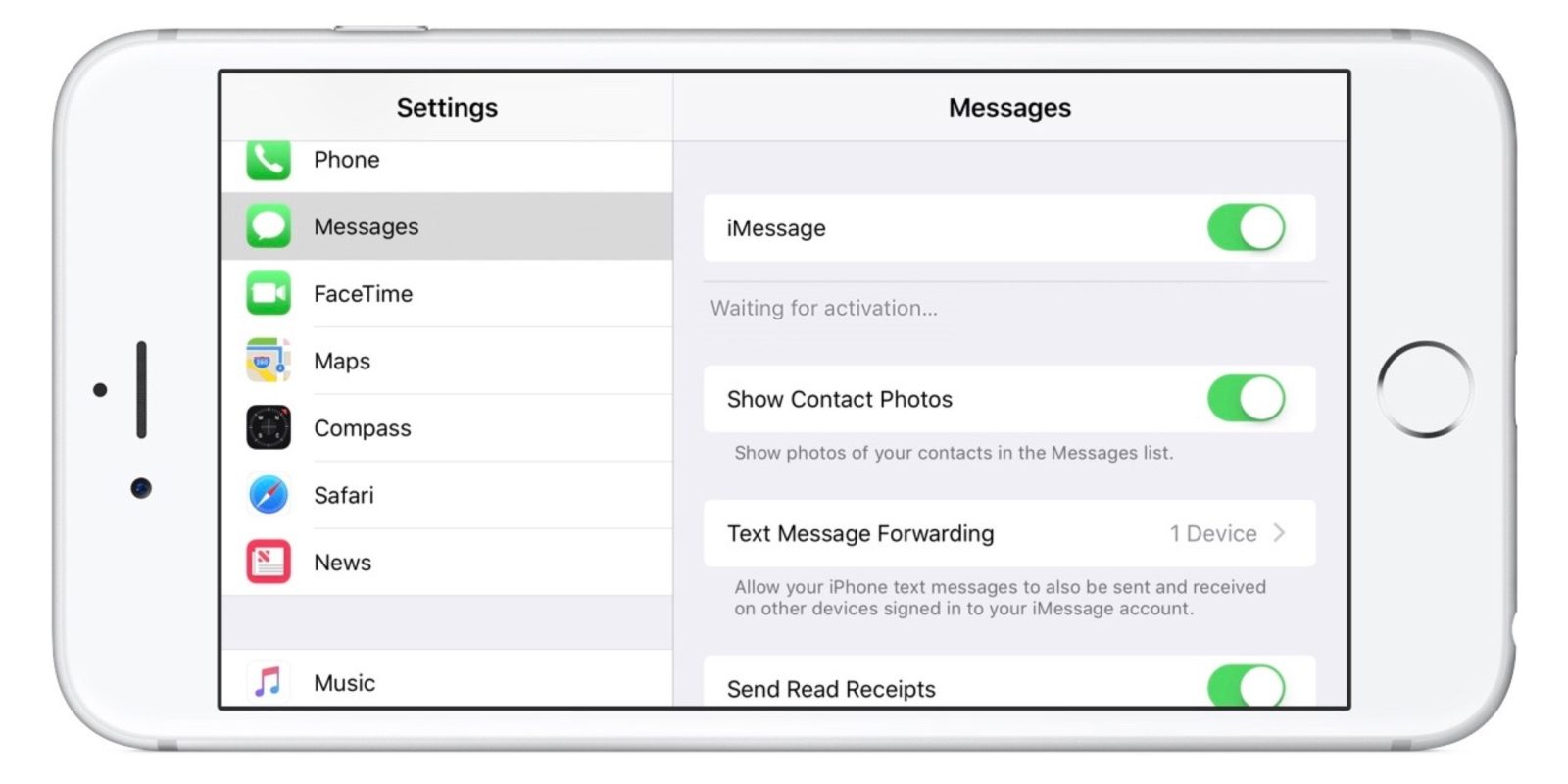 iMessage Waiting for Activation - How to Fix Issue in iMessage