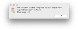 Error Code 43 Mac - How to Fix Mac Error Code 43?