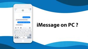 iMessage on PC - Text with iMessages on Windows 10