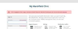 Mymarshfieldclinic - My Marshfield Clinic Login - www.marshfieldclinic.org
