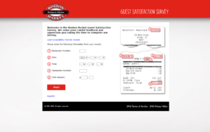 TellBostonMarket.com - Boston Market Guest Satisfaction Survey