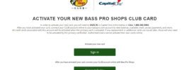 basspro.com/activate - Activate Your Bass Pro CLUB Credit Card