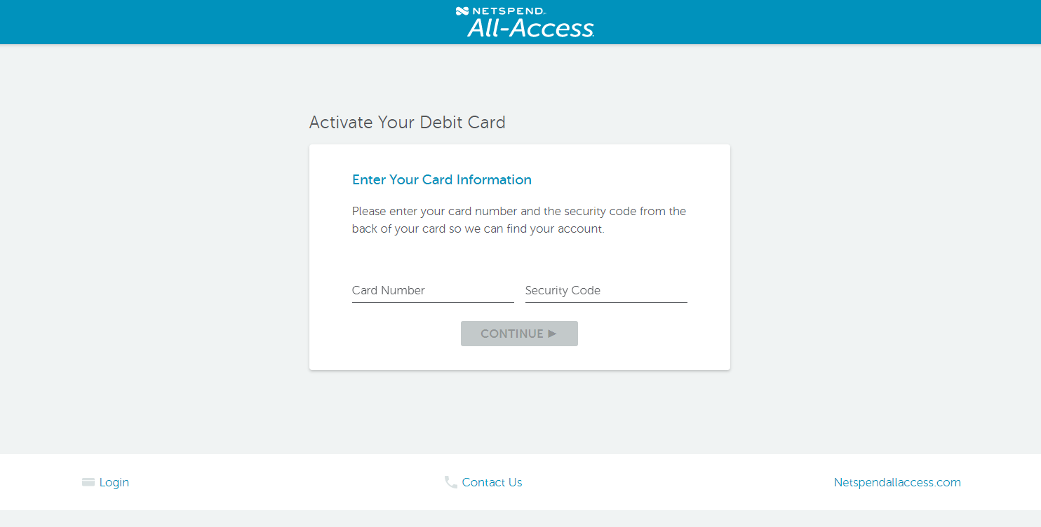 www.netspendallaccess.com/activate - Netspend All-Access Account